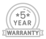 piec lat gwarancji
